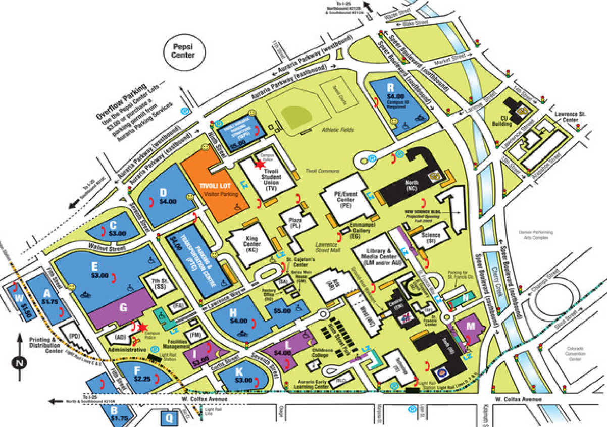 Uccs Campus Map eastwood mall map